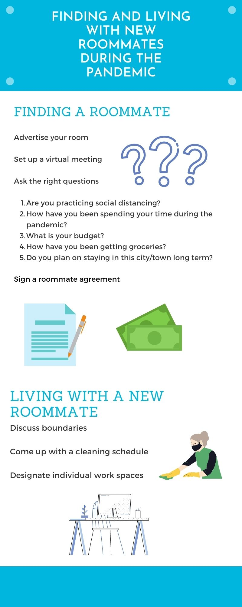 Student Roommates: Finding and Living with New Roommates During the Pandemic